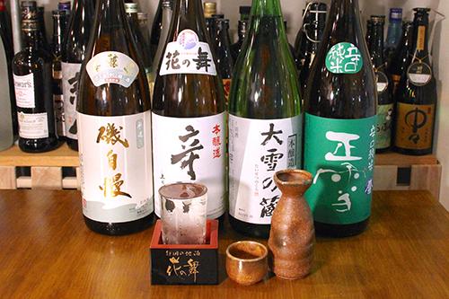 静岡の地酒をはじめ、おすすめたくさん!